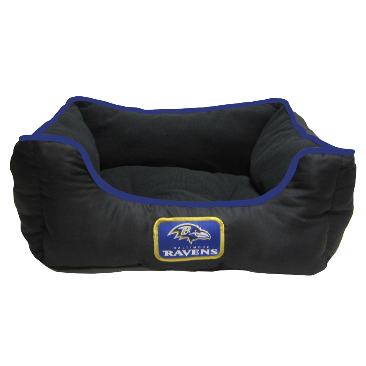Hot Dog Baltimore Ravens NFL Football NESTING Pet/ Dog Bed