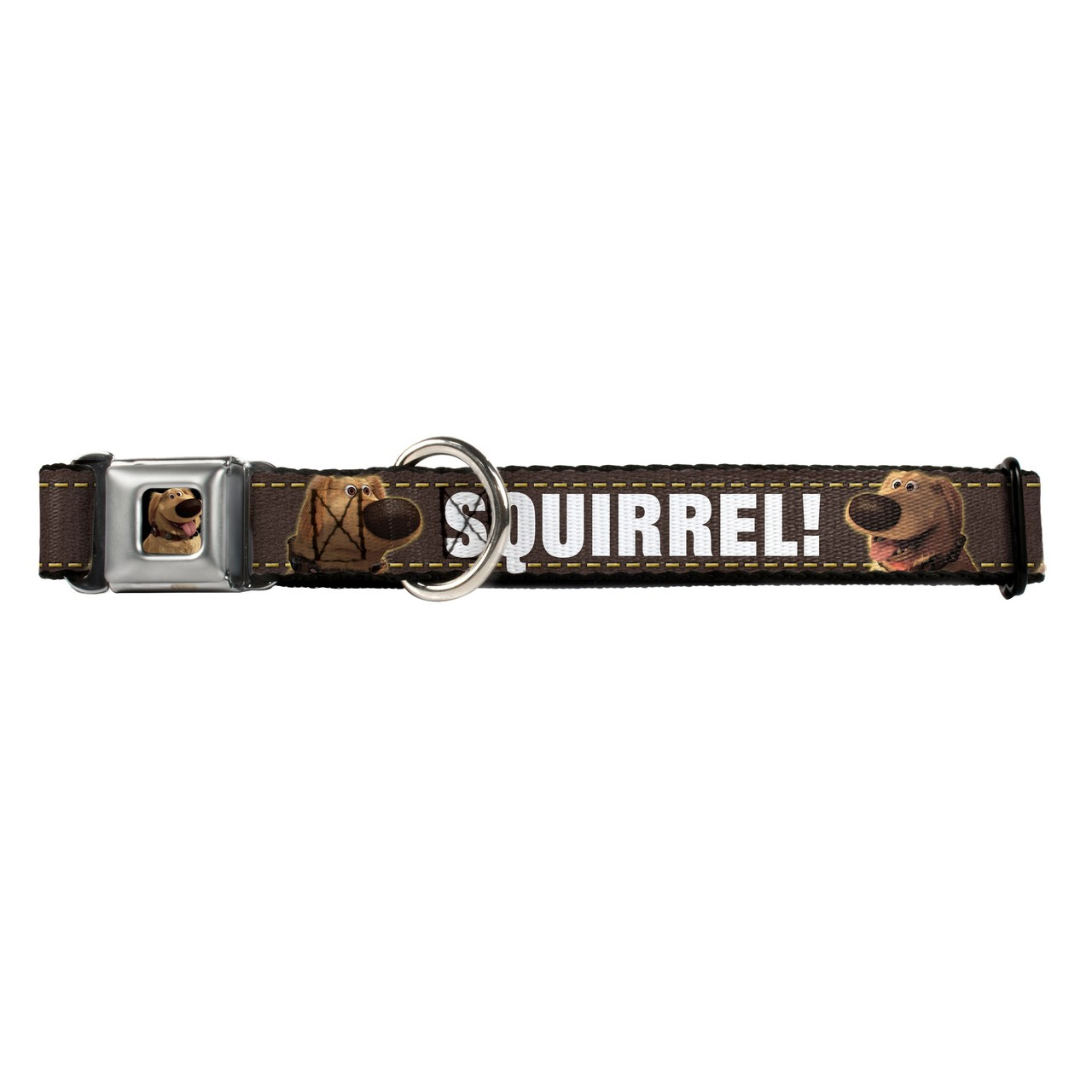 Hot Dog Dug Tongue Out Squirrel Buckle-Down Seat Belt Buckle Dog Collar
