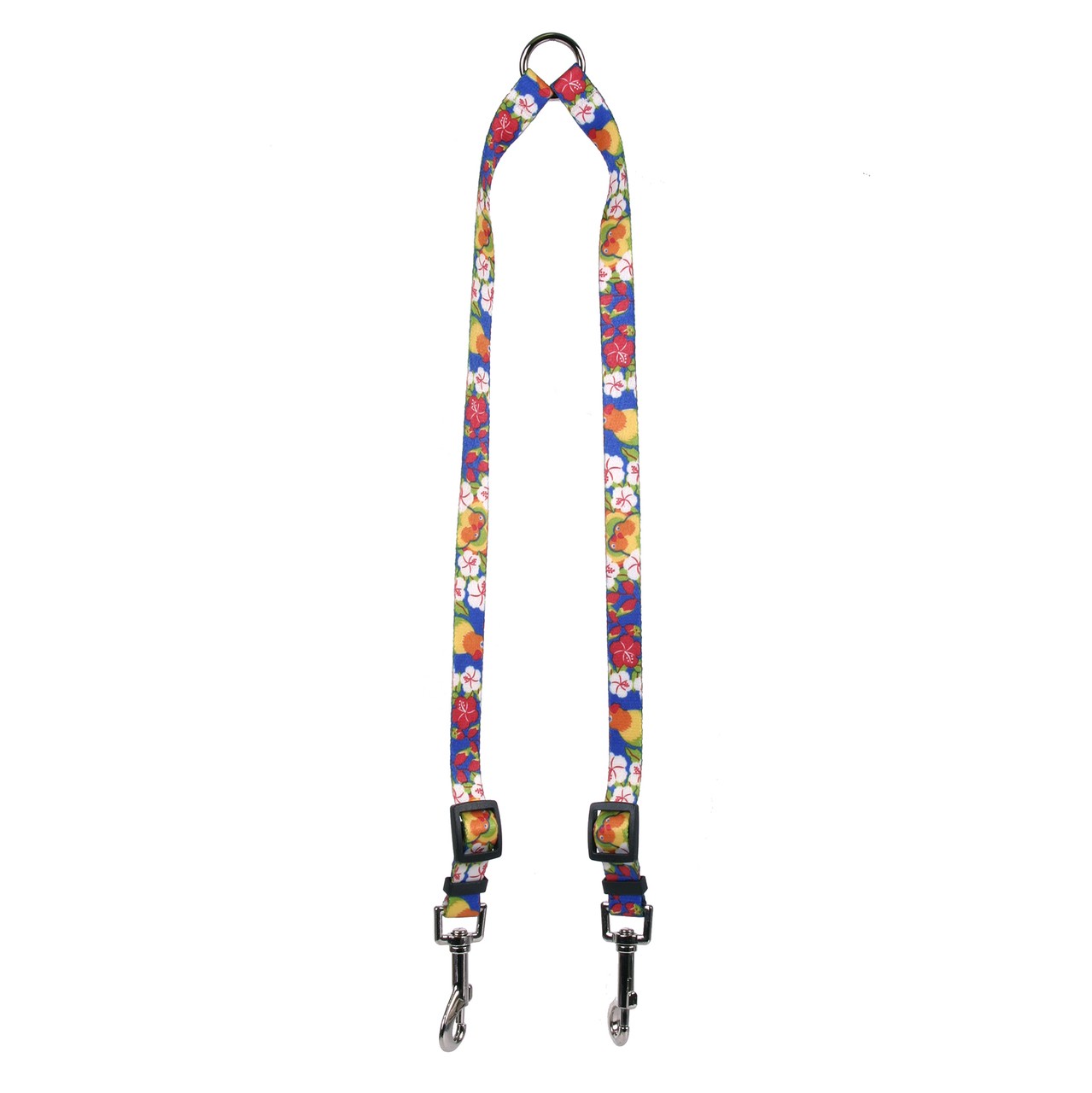 Yellow Dog Lovebirds Coupler Dog Leash