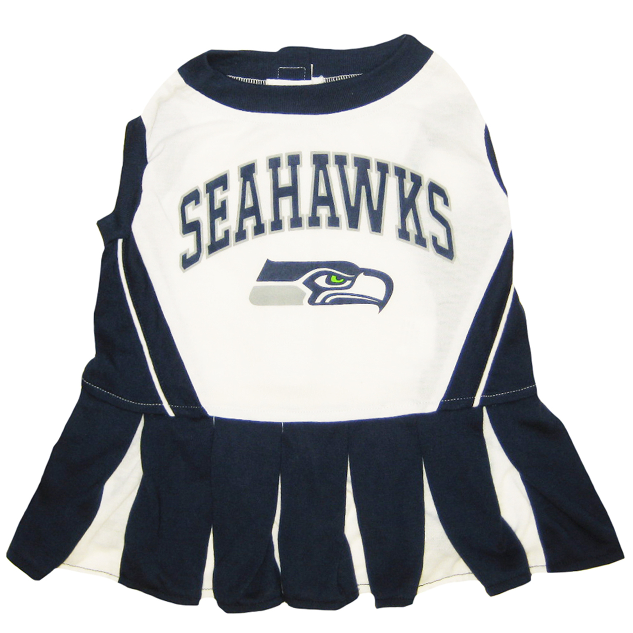 Hot Dog Seattle Seahawks NFL Football Pet Cheerleader Outfit