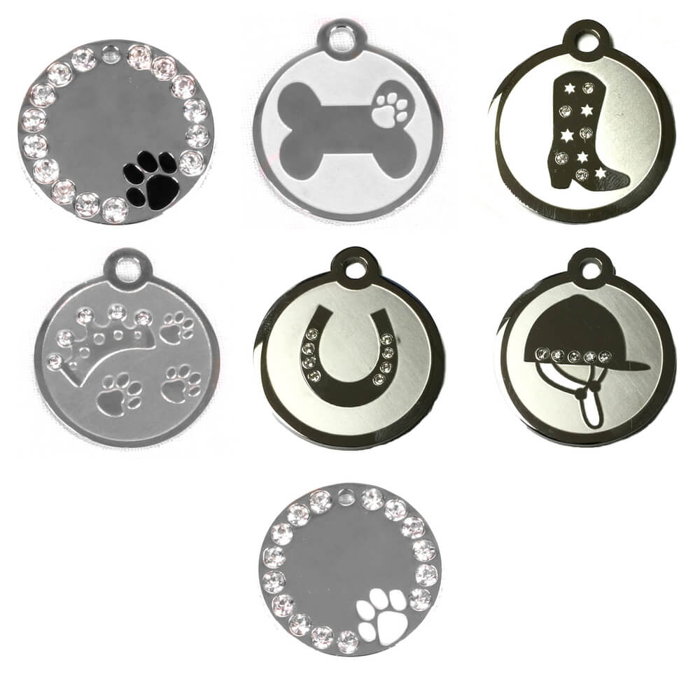 Hot Dog Stainless Steel Pet/ Dog ID Tags