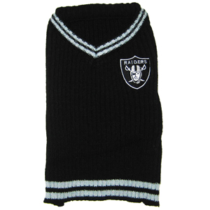 Hot Dog Oakland Raiders NFL Football Pet/ Dog Sweater