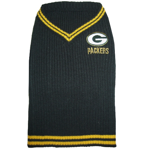 Green Bay Packers NFL Football Pet/ Dog Sweater GBP-4012-XS
