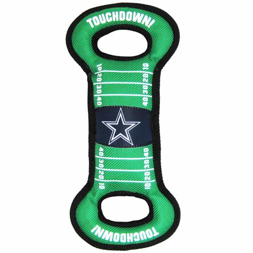 Dallas Cowboys NFL Field Tug Dog Toy DAL-3030
