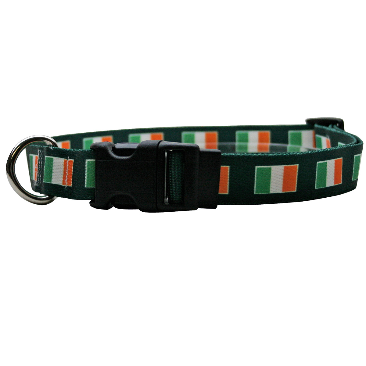 Yellow Dog Irish Flag Break Away Cat Collar
