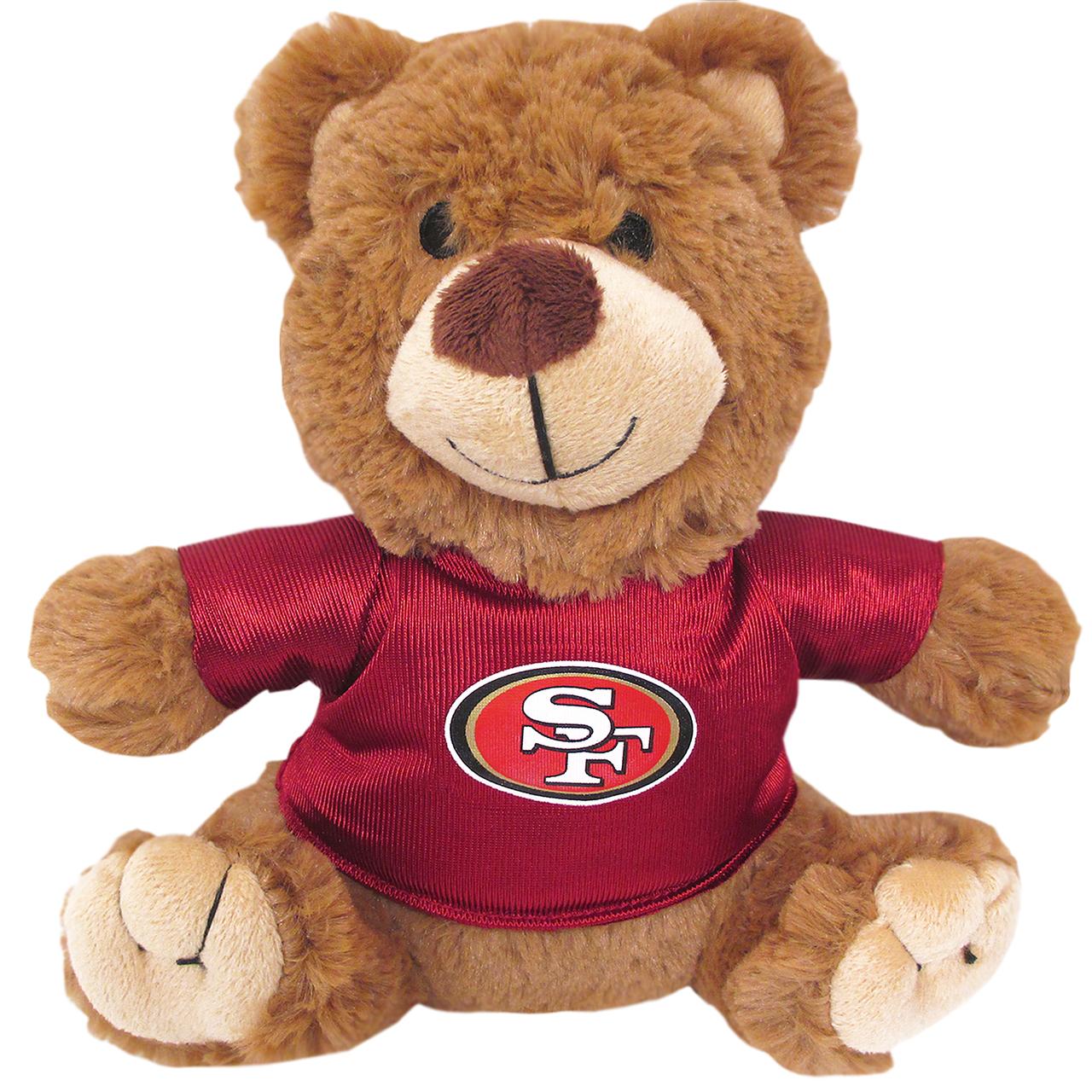 San Francisco 49ers NFL Teddy Bear Dog Toy SAN-3119