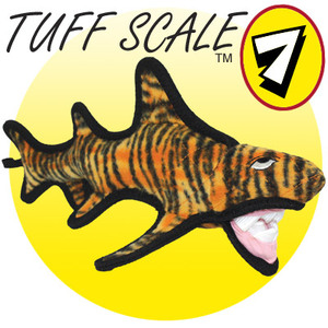 Tuffys Ocean Creature Tiger Shark Dog Toy TUF-TSHRK