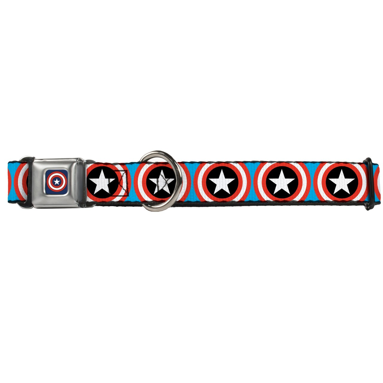 Hot Dog Captain America Shield Buckle-Down Seat Belt Buck...