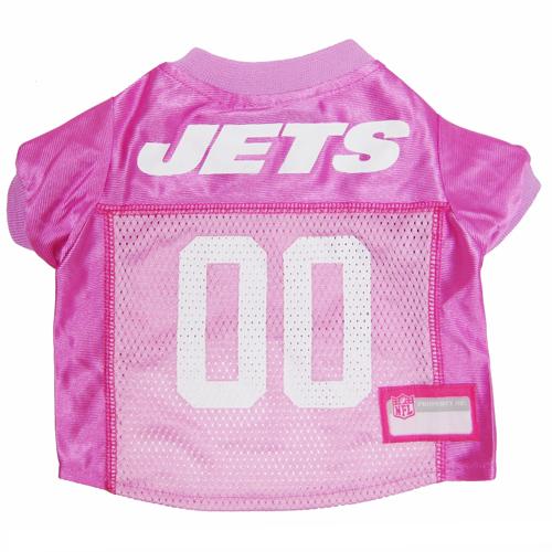 Hot Dog N.Y. Jets PINK NFL Football Pet/ Dog Jersey