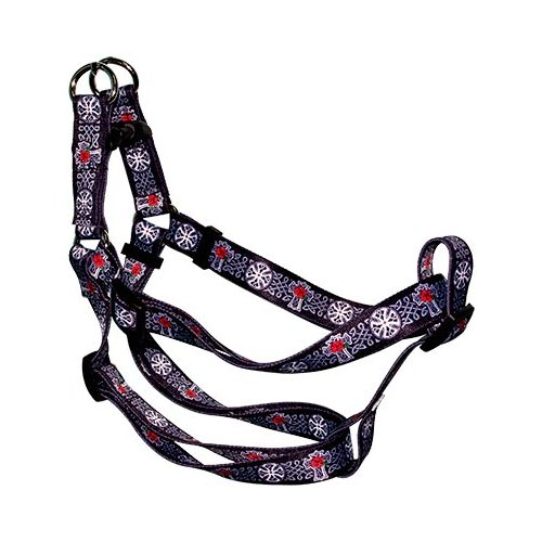 Yellow Dog Celtic Cross Step-In Dog Harness