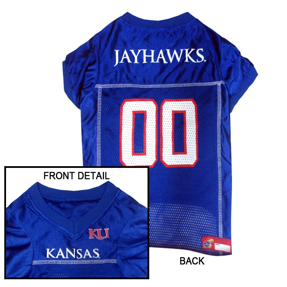Hot Dog Kansas Jayhawks Dog Jersey