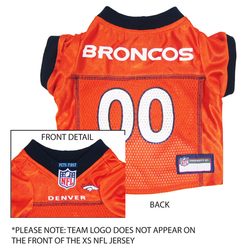 Hot Dog Denver Broncos NFL Football ULTRA Pet/ Dog Jersey