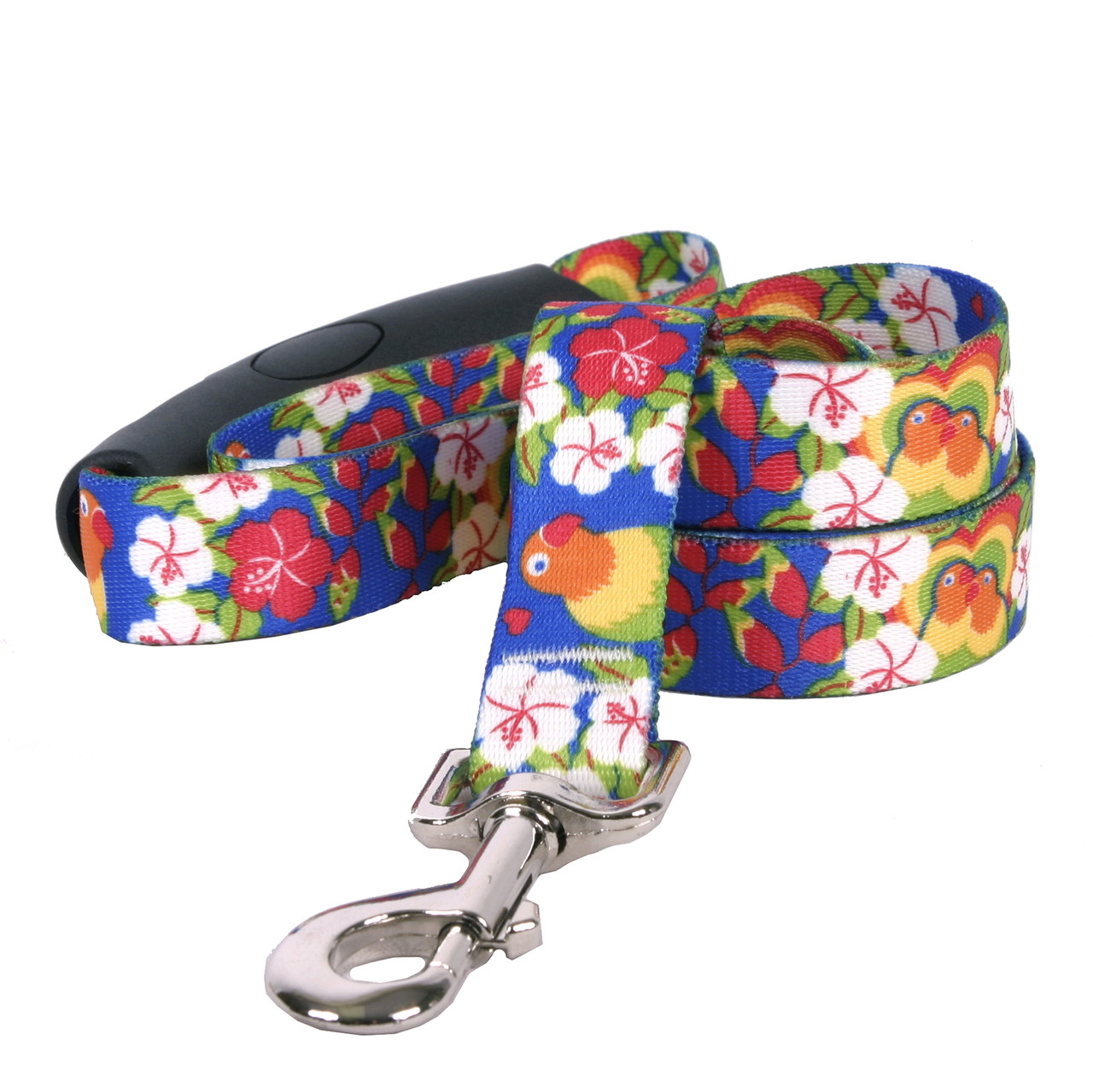 Yellow Dog Lovebirds EZ-Grip Dog Leash