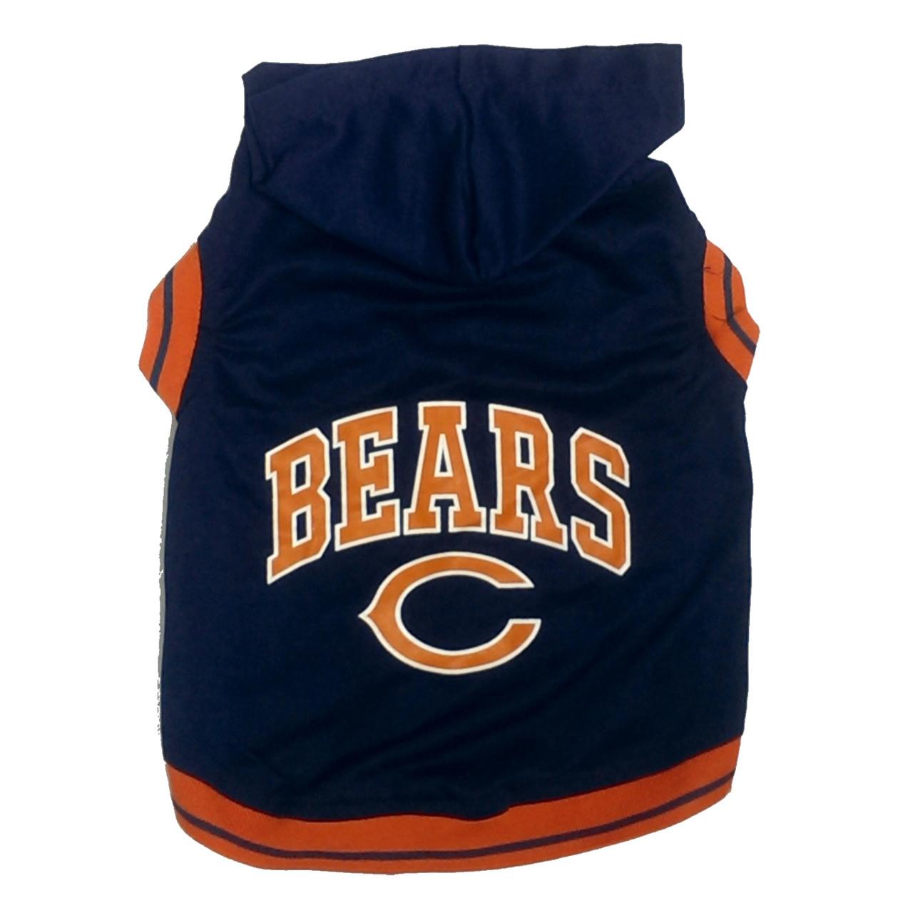 Hot Dog Chicago Bears NFL Football Dog HOODIE