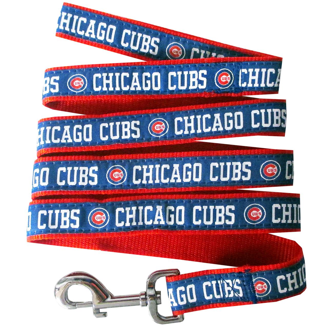 Hot Dog Chicago Cubs Dog LEASH