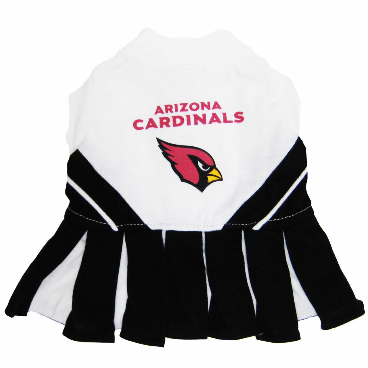 Hot Dog Arizona Cardinals NFL Football Pet Cheerleader Outfit