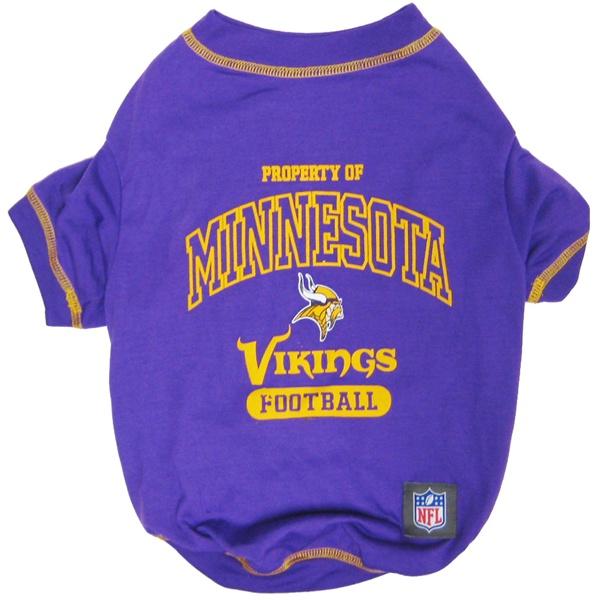 Hot Dog Minnesota Vikings NFL Football Pet/ Dog T-Shirt