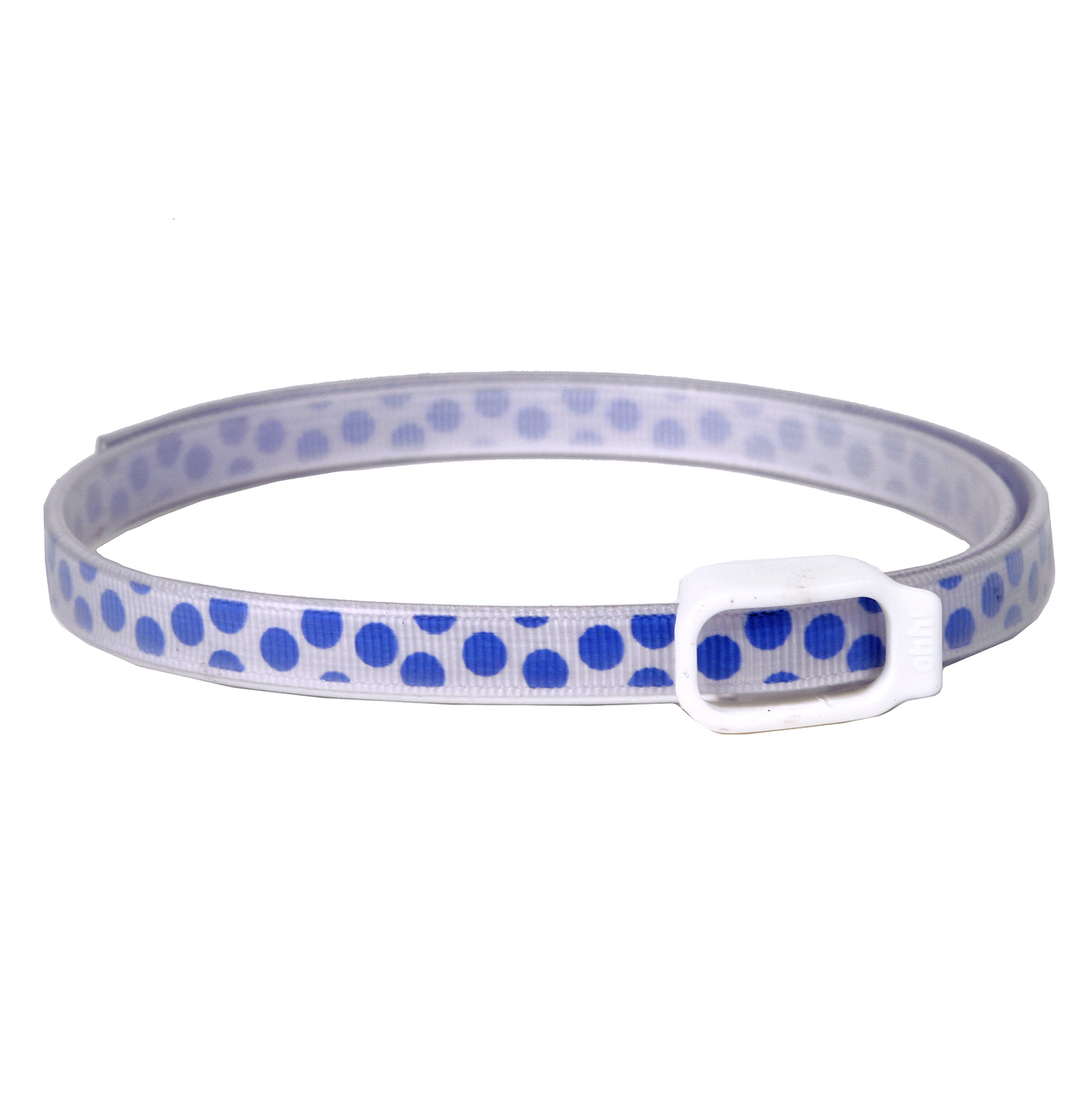 Essential Oils Dog Collar - Blue Polka Dot