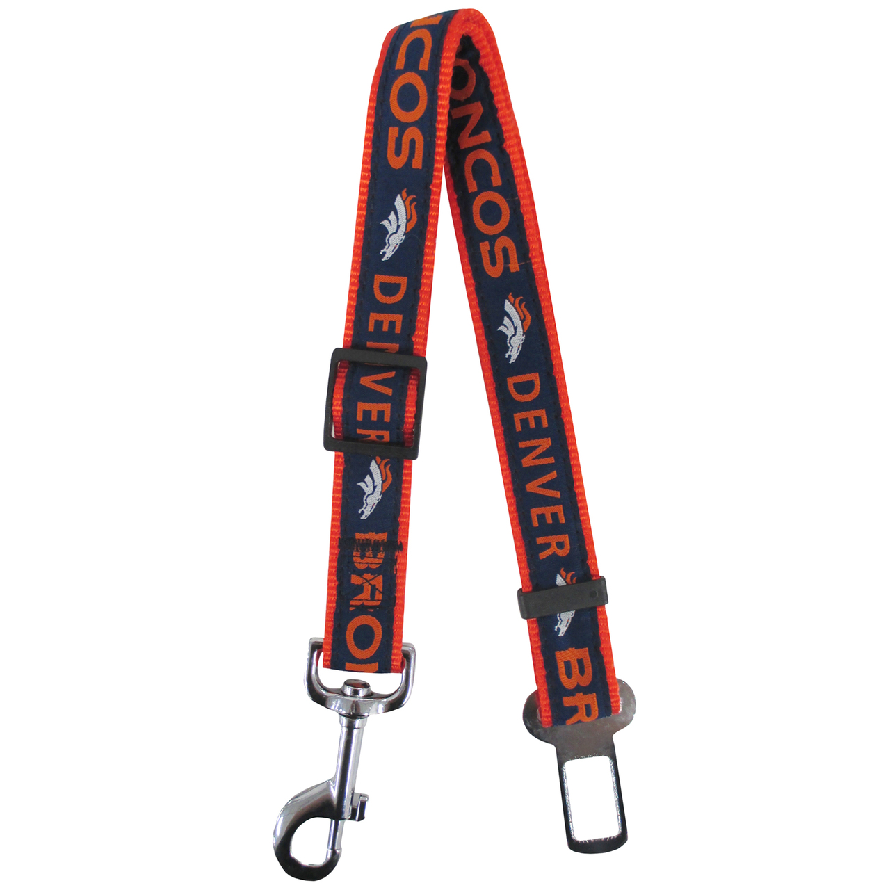 Hot Dog Denver Broncos Seat Belt Safety Restraint For Dogs