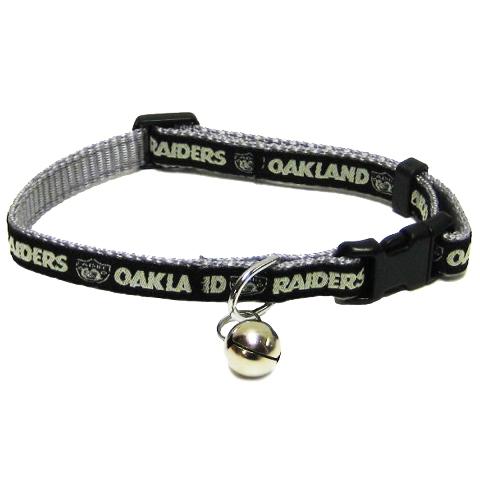 Oakland Raiders CAT Collar OAK-5010
