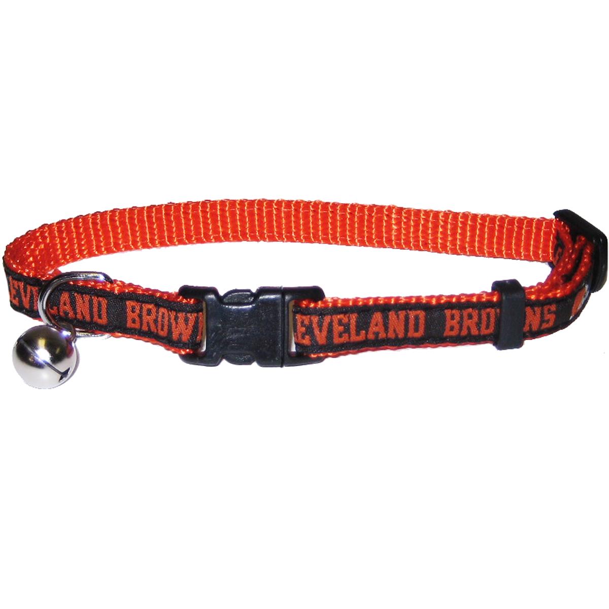 Hot Dog Cleveland Browns CAT Collar