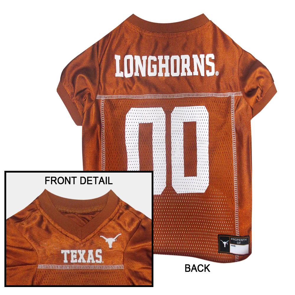 Hot Dog Texas Longhorns Football Pet/ Dog Jersey