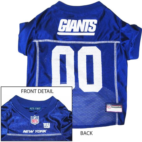 Hot Dog N.Y. Giants NFL Football ULTRA Pet/ Dog Jersey