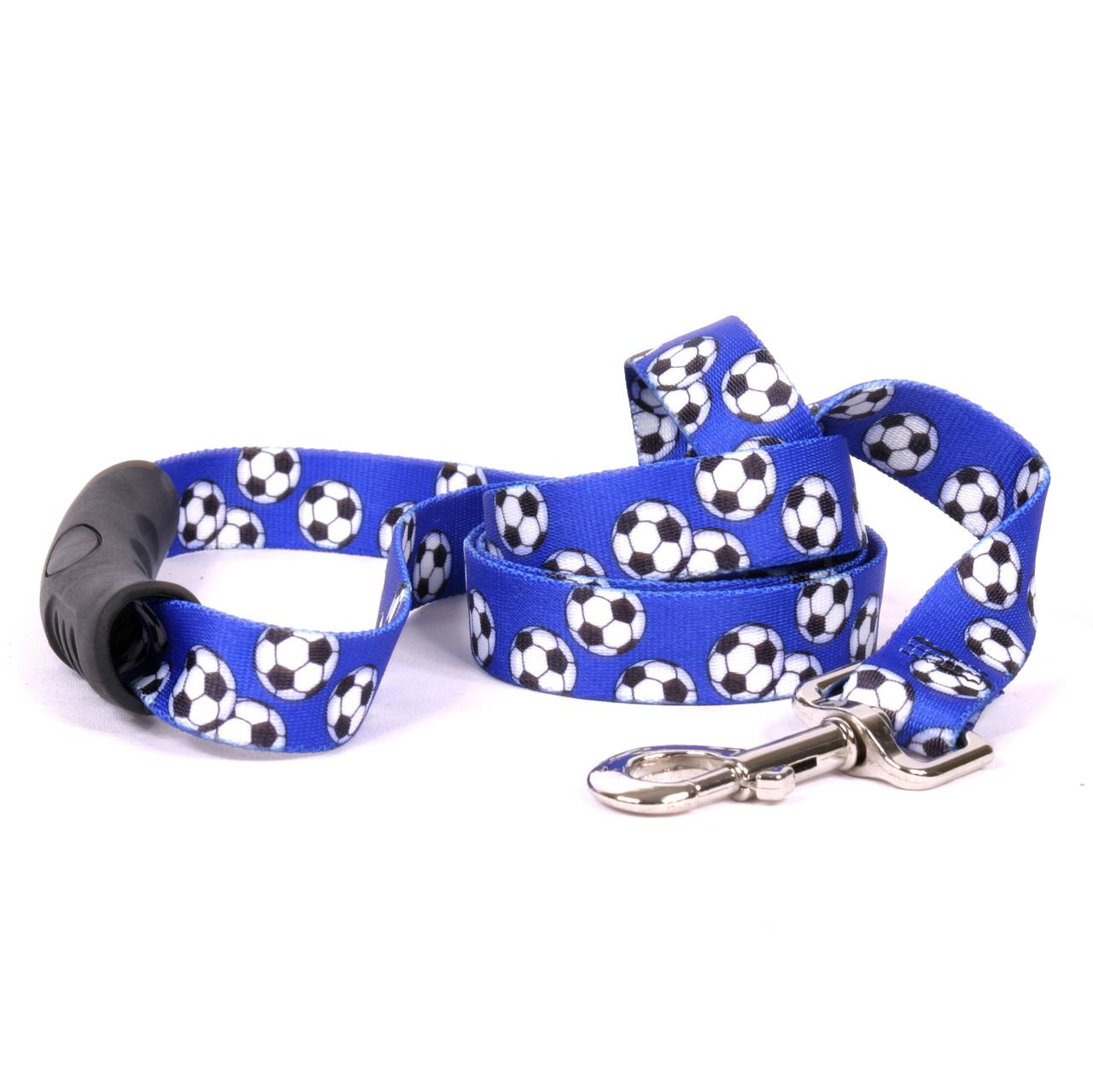 Yellow Dog Soccer Balls EZ-Grip Dog Leash