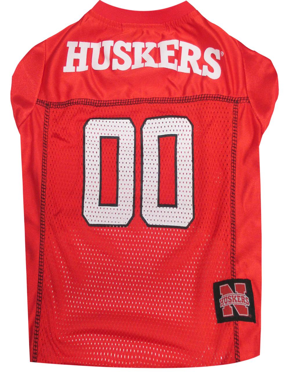Hot Dog Nebraska Football Dog Jersey