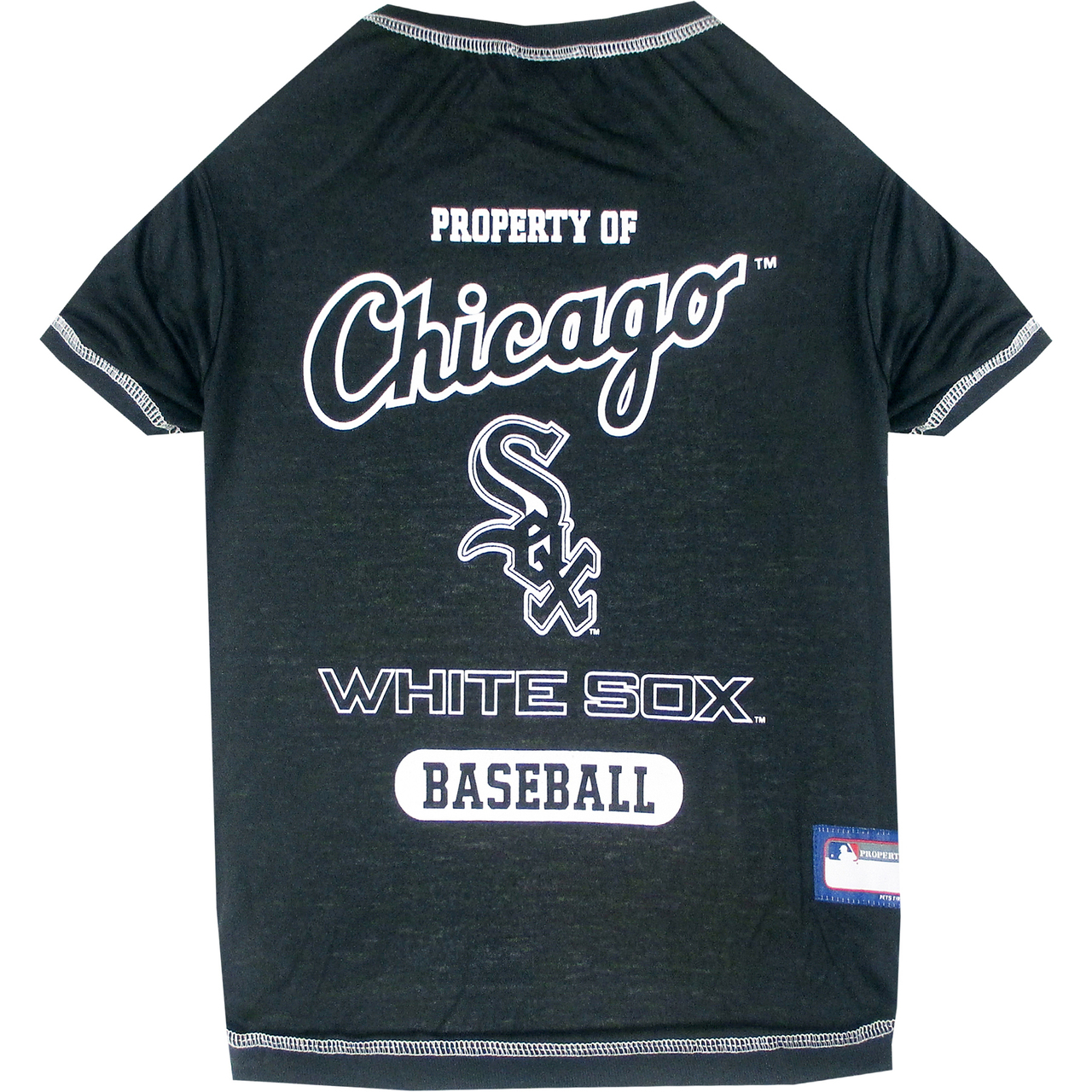 Hot Dog Chicago White Sox Tee Shirt For Dogs