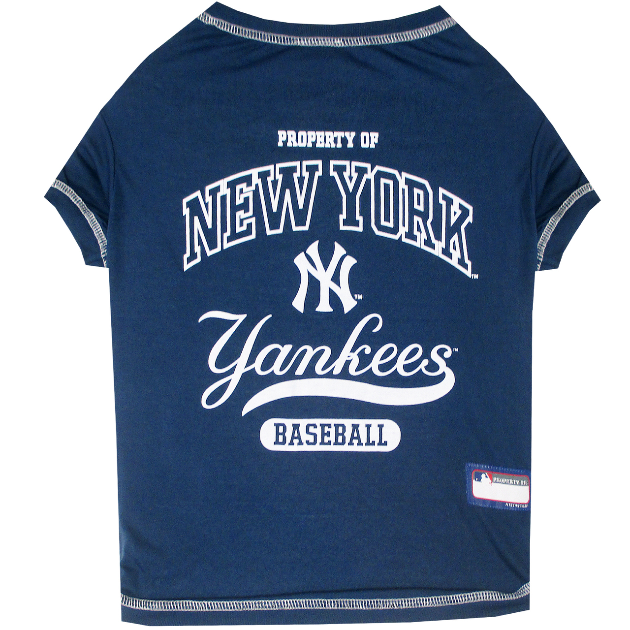 Hot Dog New York Yankees Tee Shirt For Dogs