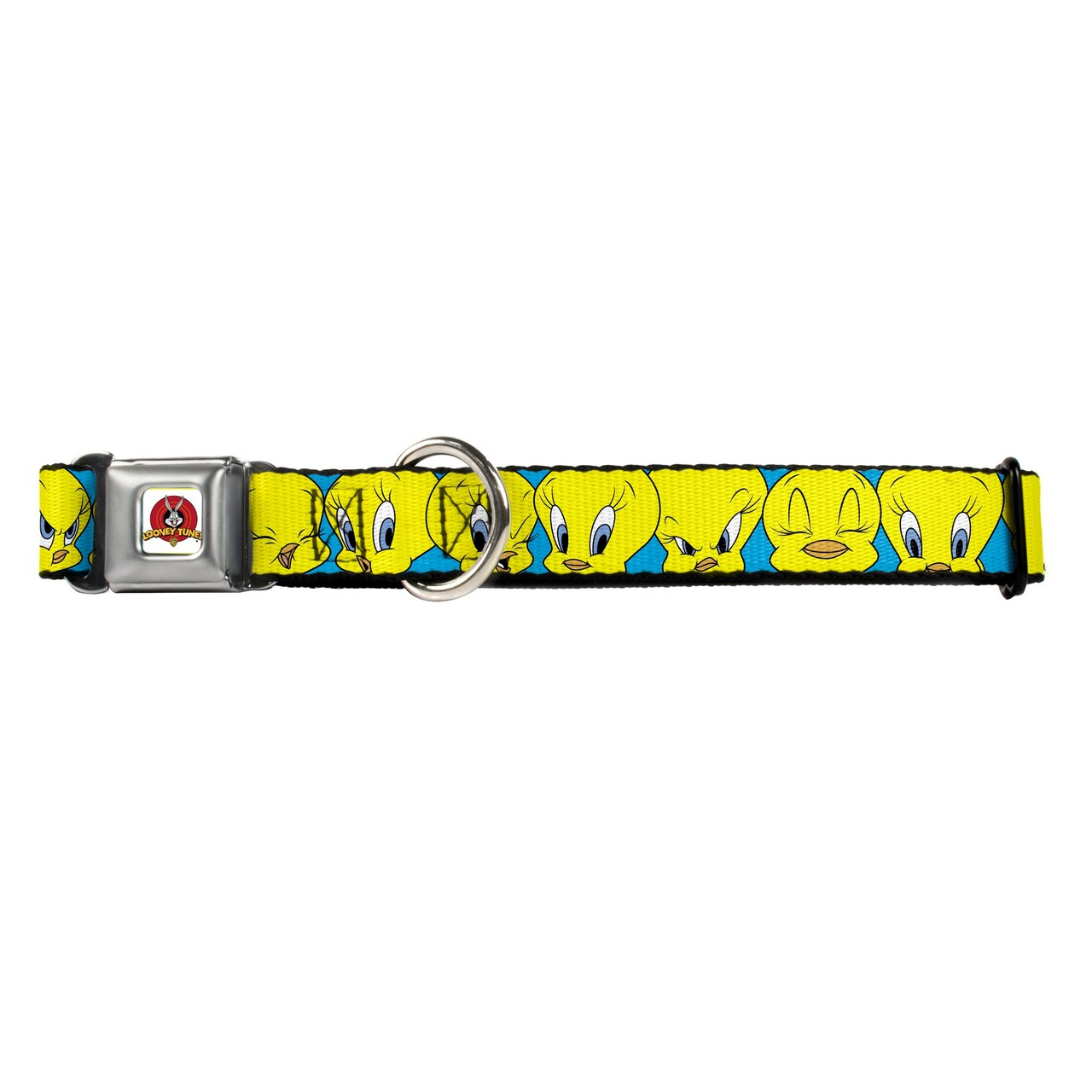 Hot Dog Looney Tunes Tweety Bird Buckle-Down Seat Belt Bu...