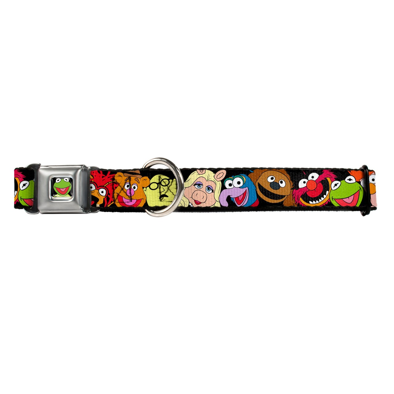 Hot Dog Muppets Kermit Buckle-Down Seat Belt Buckle Dog C...