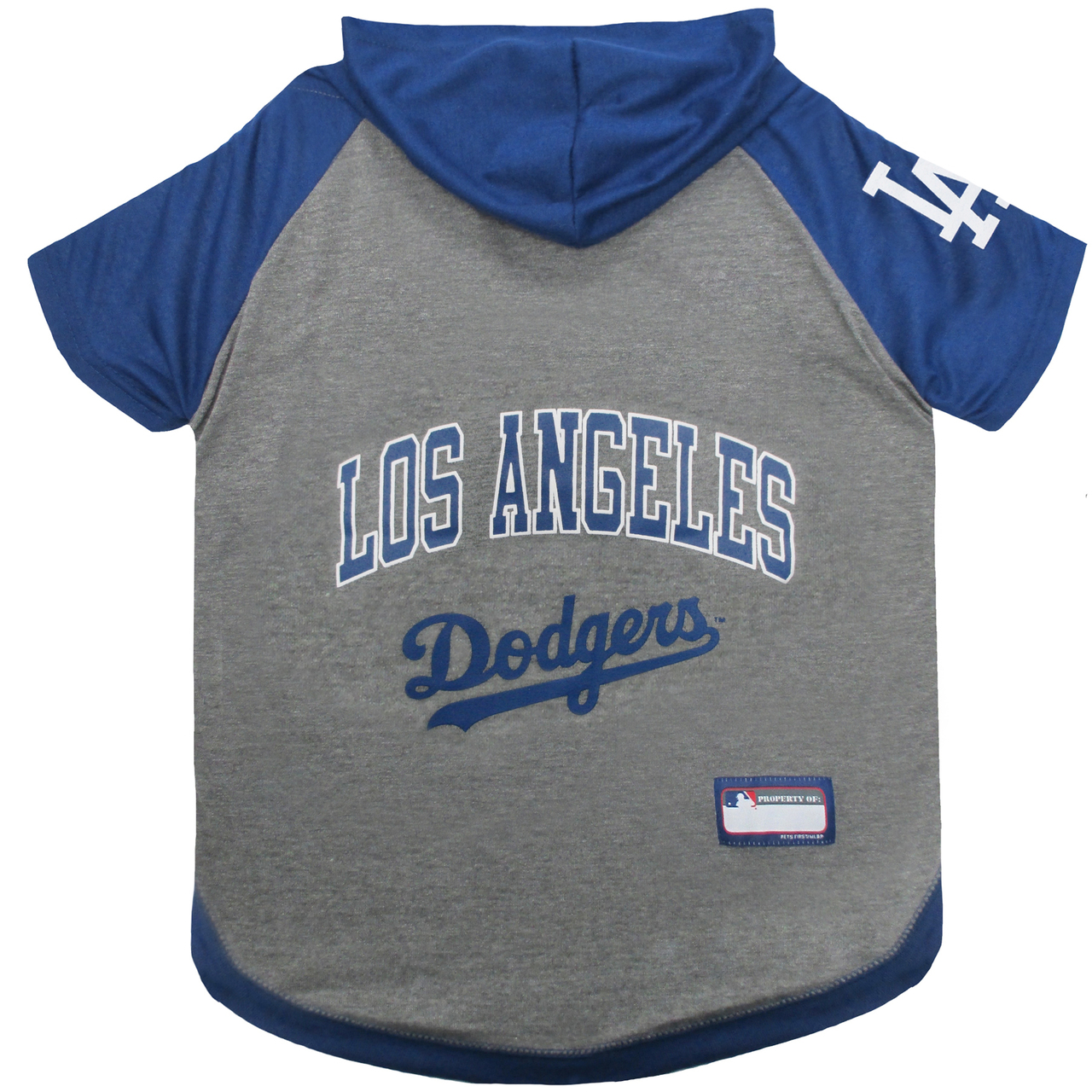 Hot Dog Los Angeles Dodgers Hoodie T-Shirt For Dogs