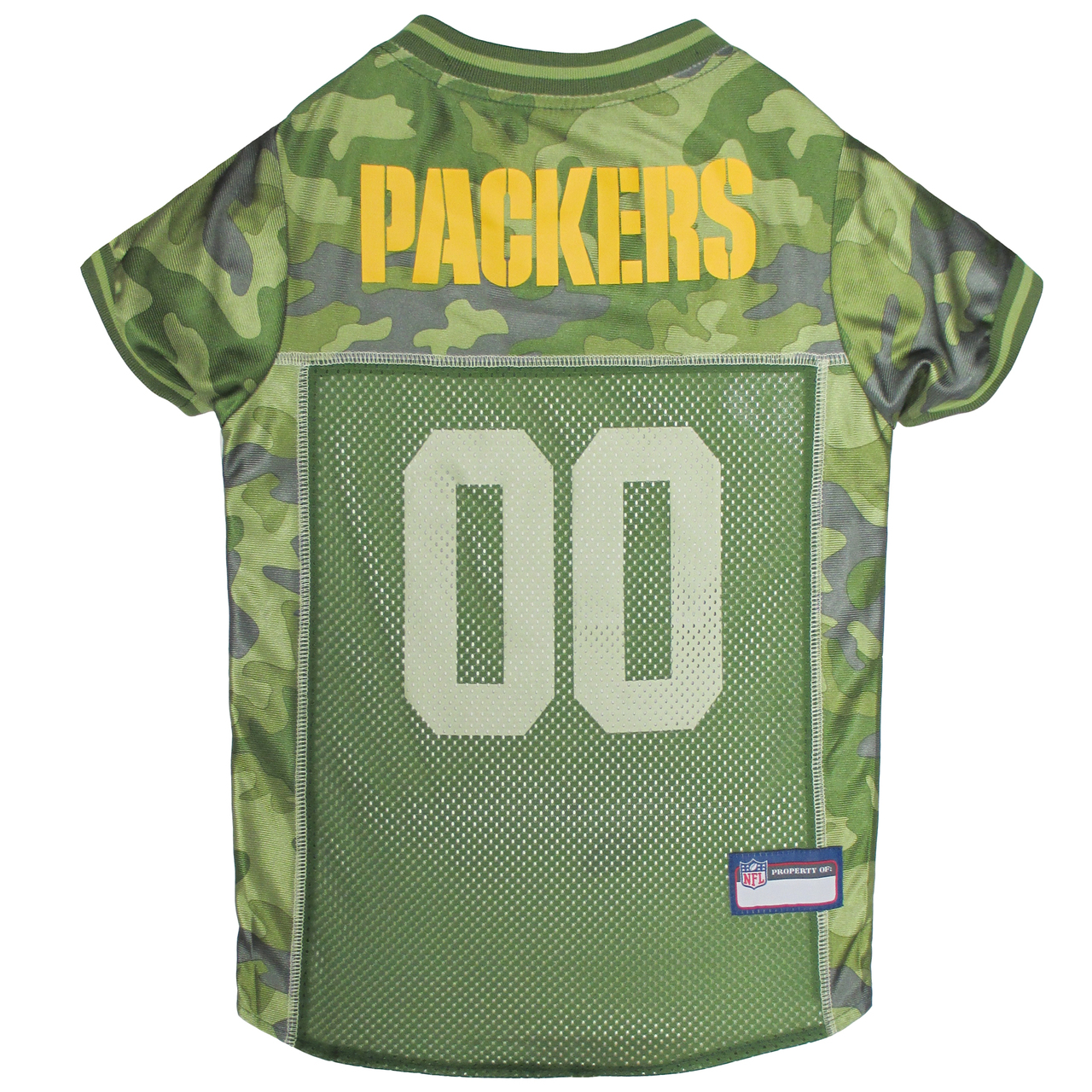 Hot Dog Green Bay Packers NFL Football Camo Pet/ Dog Jersey