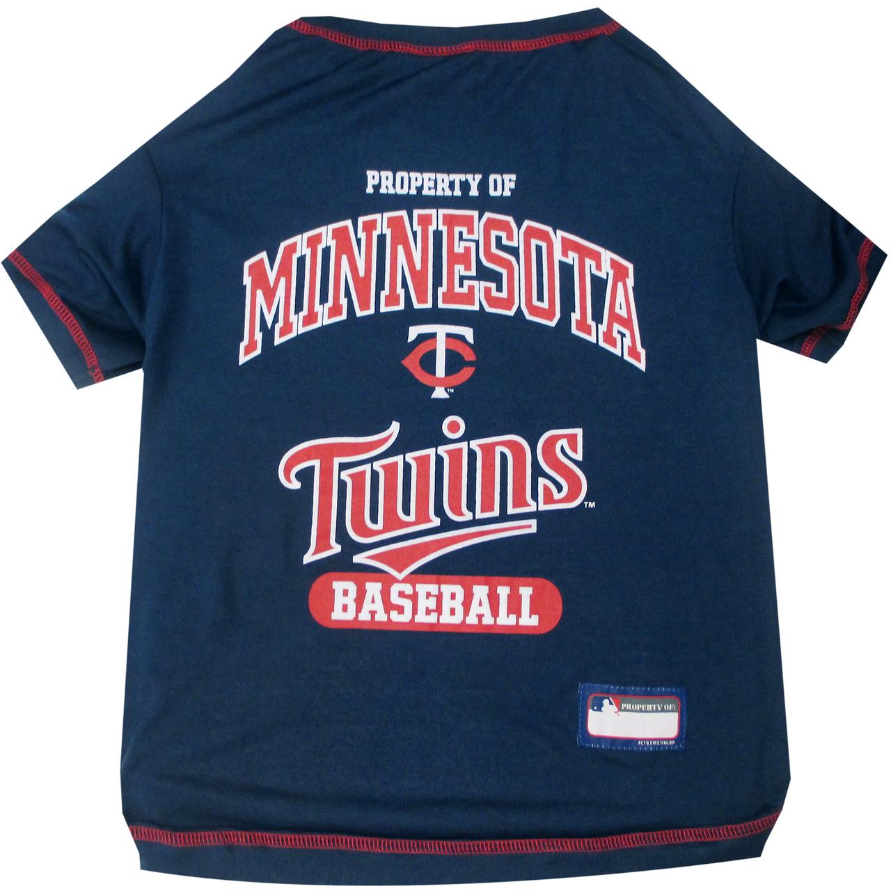 Hot Dog Minnesota Twins Tee Shirt For Dogs