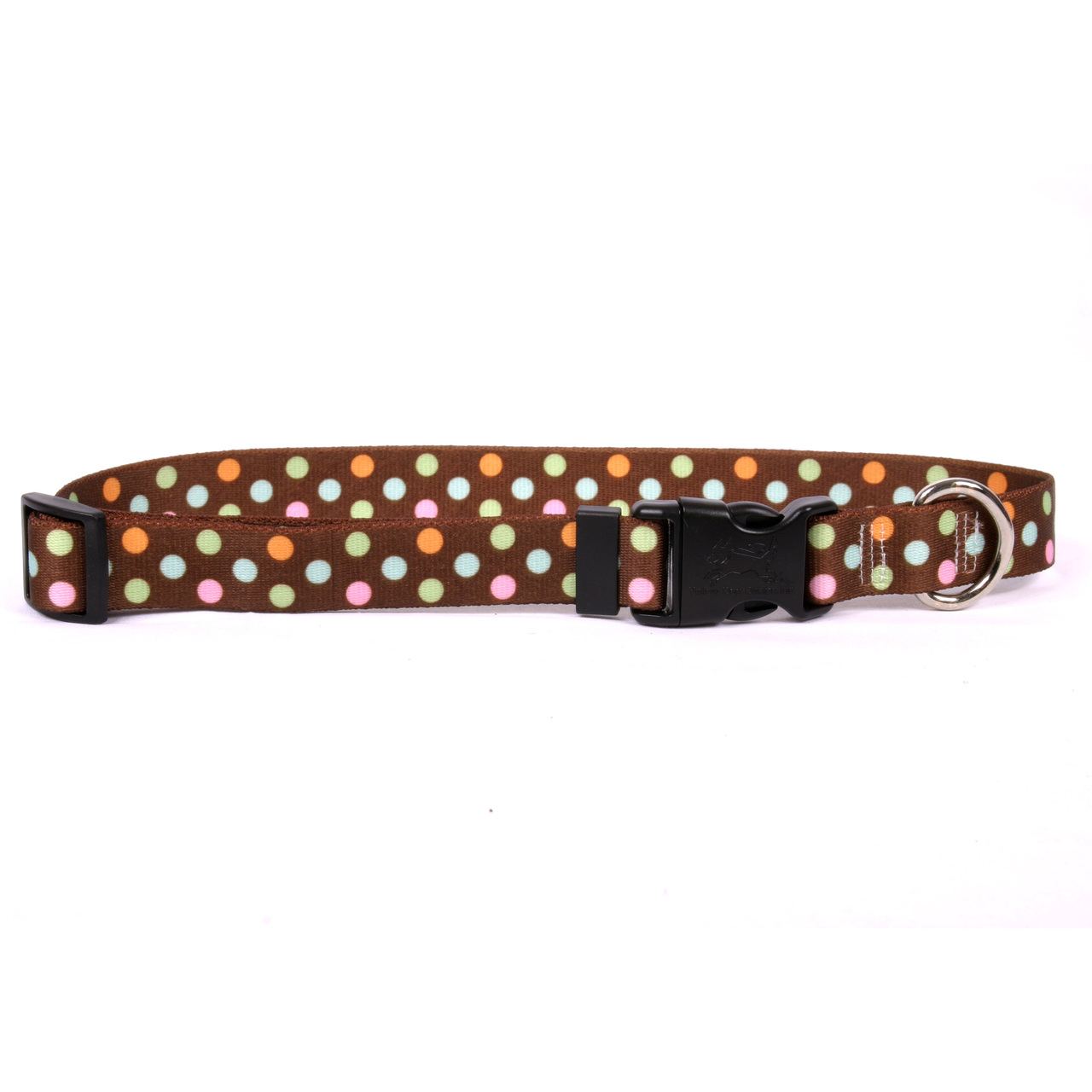 Yellow Dog Neopolitan Break Away Cat Collar