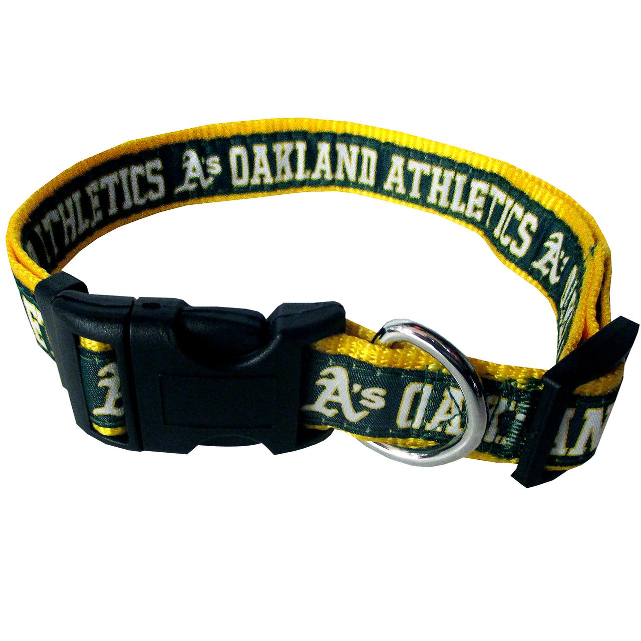 Hot Dog Oakland Athletics Dog COLLAR