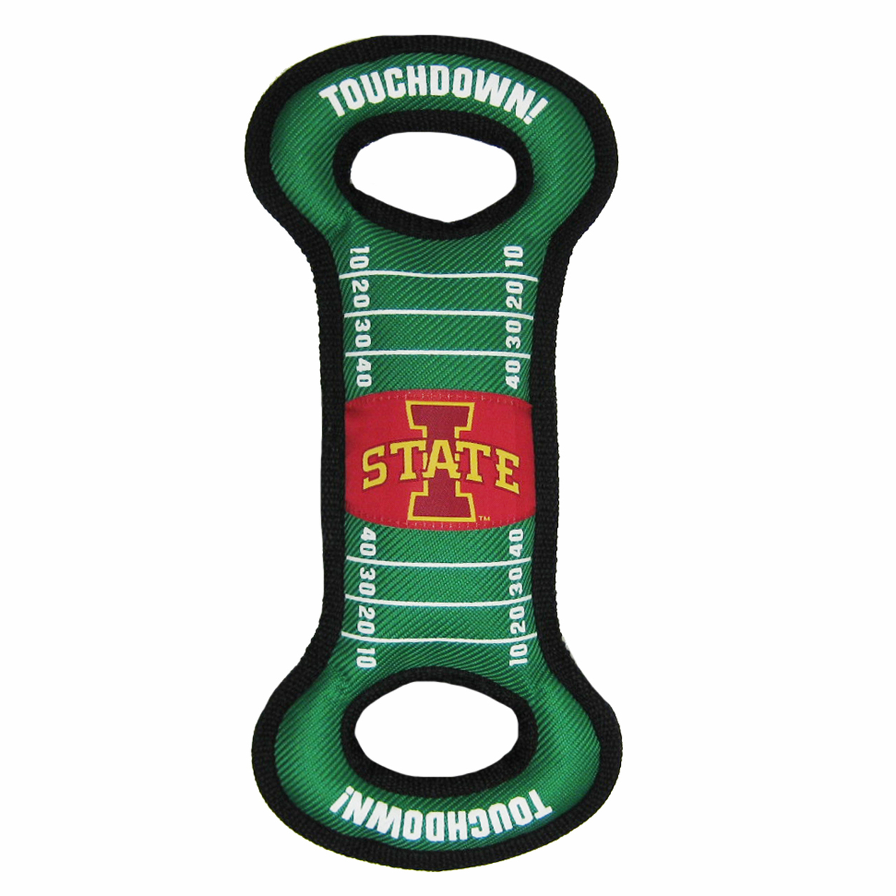 Hot Dog Iowa State Football NCAA Field Tug Dog Toy