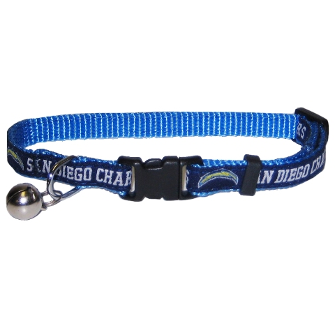 Hot Dog Los Angeles Chargers CAT Collar