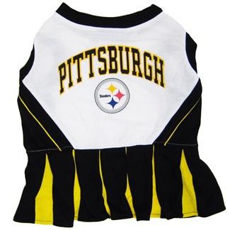 Hot Dog Pittsburgh Steelers NFL Football Pet Cheerleader ...