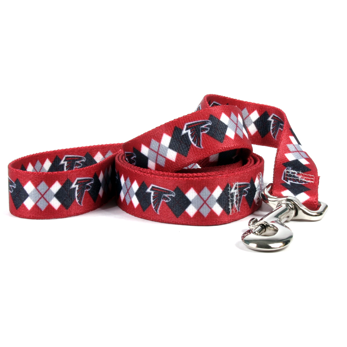 Atlanta Falcons Argyle Dog Leash FALCA110