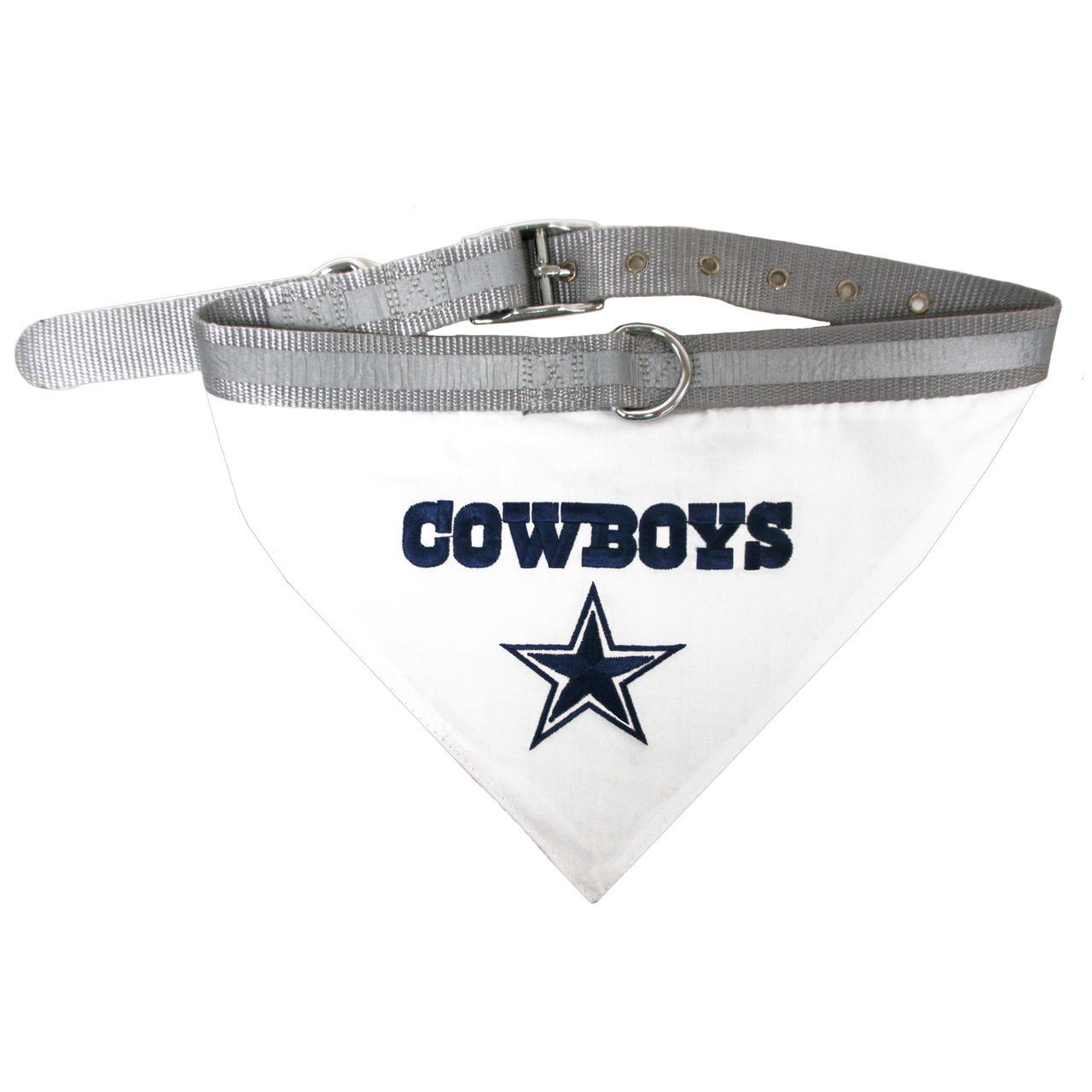 Hot Dog Dallas Cowboys Bandana Dog Collar
