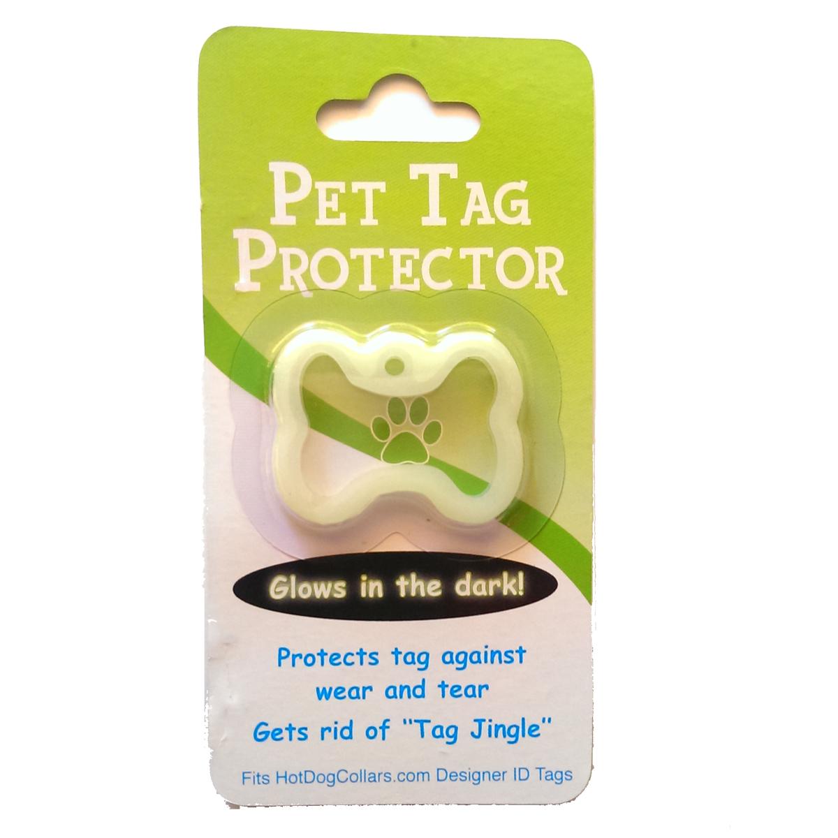 Hot Dog Dog Tag BONE Silencer - Protect Your Pets ID Tag