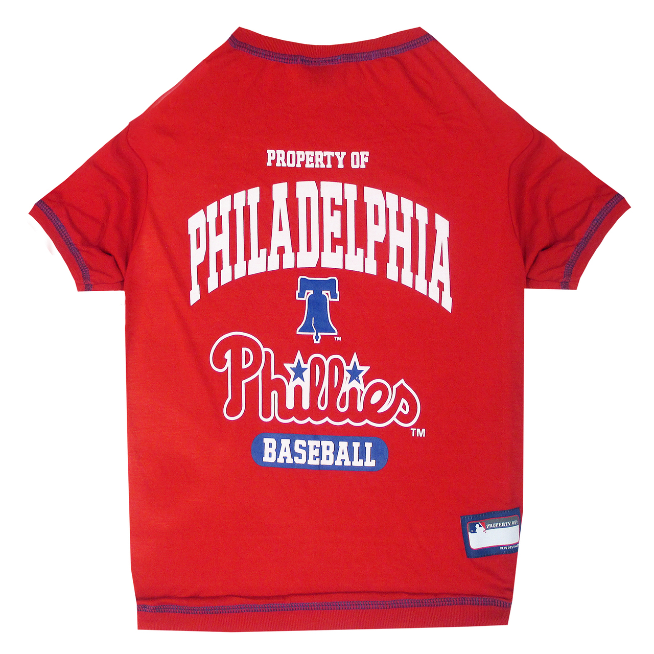 Hot Dog Philadelphia Phillies Tee Shirt For Dogs