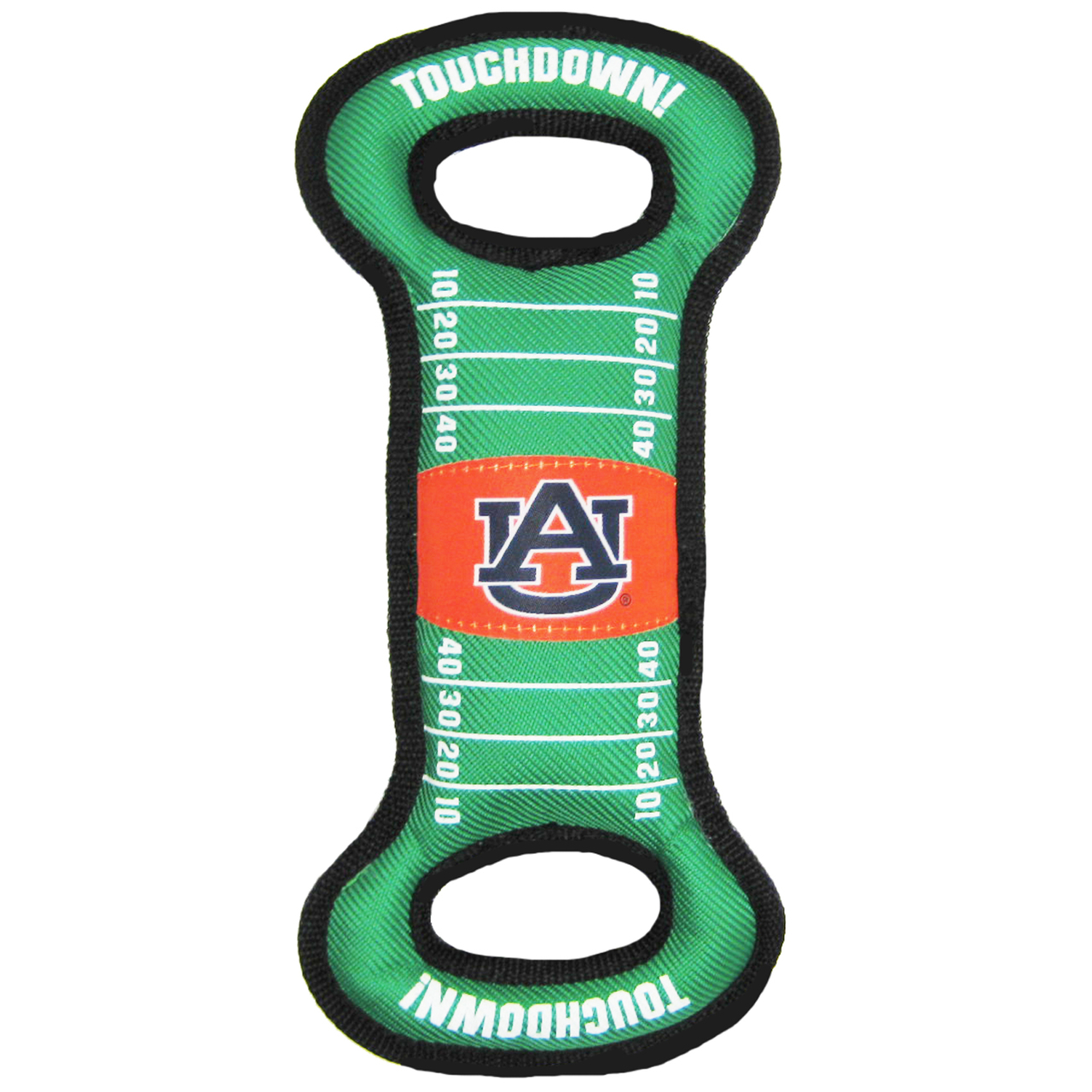 Hot Dog Auburn Football NCAA Field Tug Dog Toy