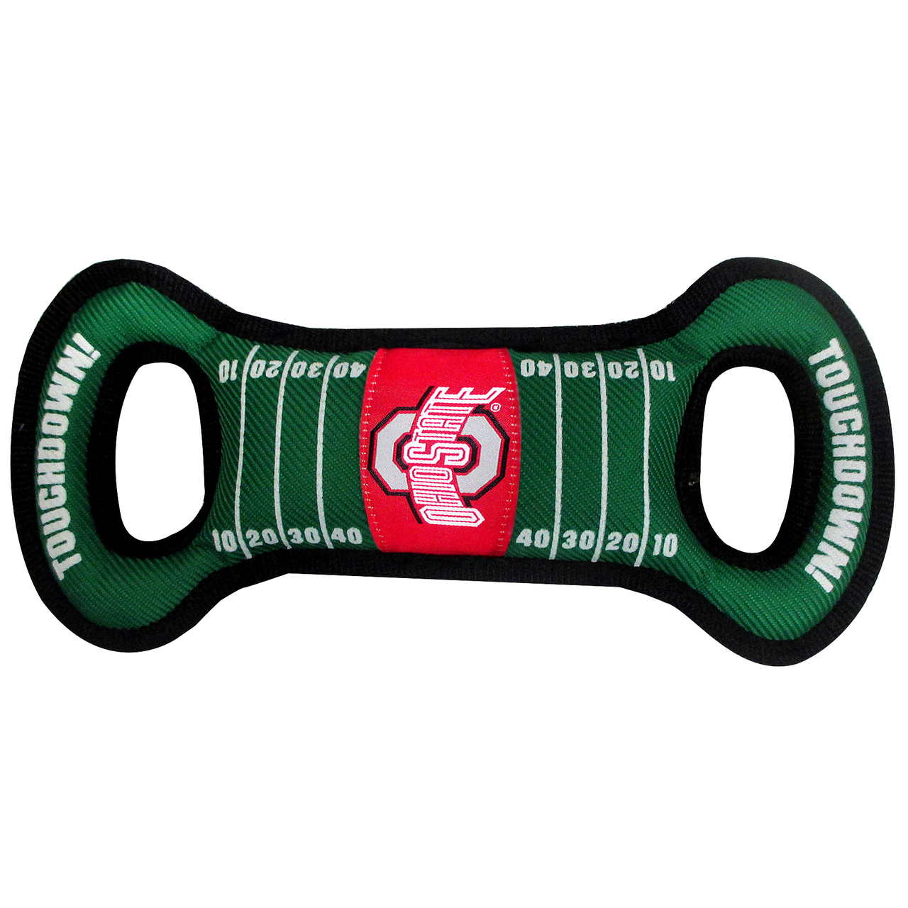 Ohio State Football NCAA Field Tug Dog Toy OH-3030