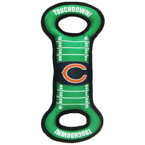 Chicago Bears NFL Field Tug Dog Toy CHI-3030