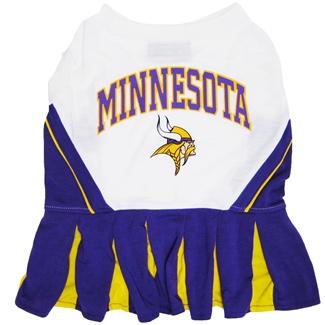 Hot Dog Minnesota Vikings NFL Football Pet Cheerleader Ou...