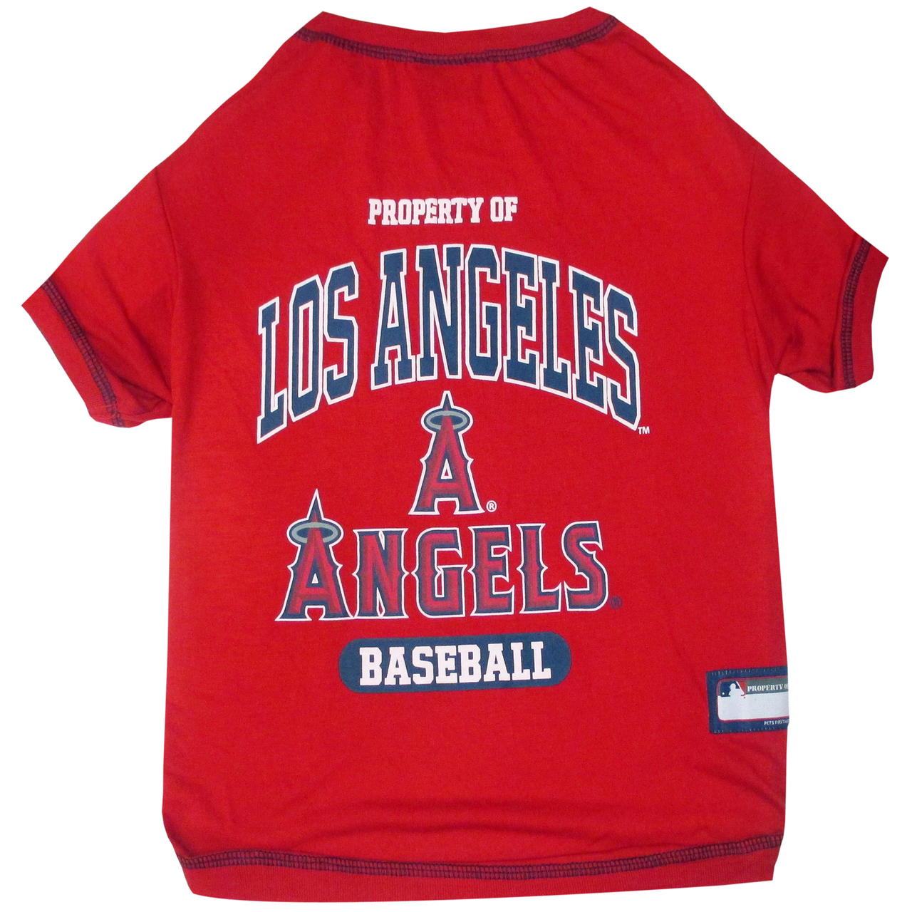Hot Dog Anaheim Angels Tee Shirt For Dogs